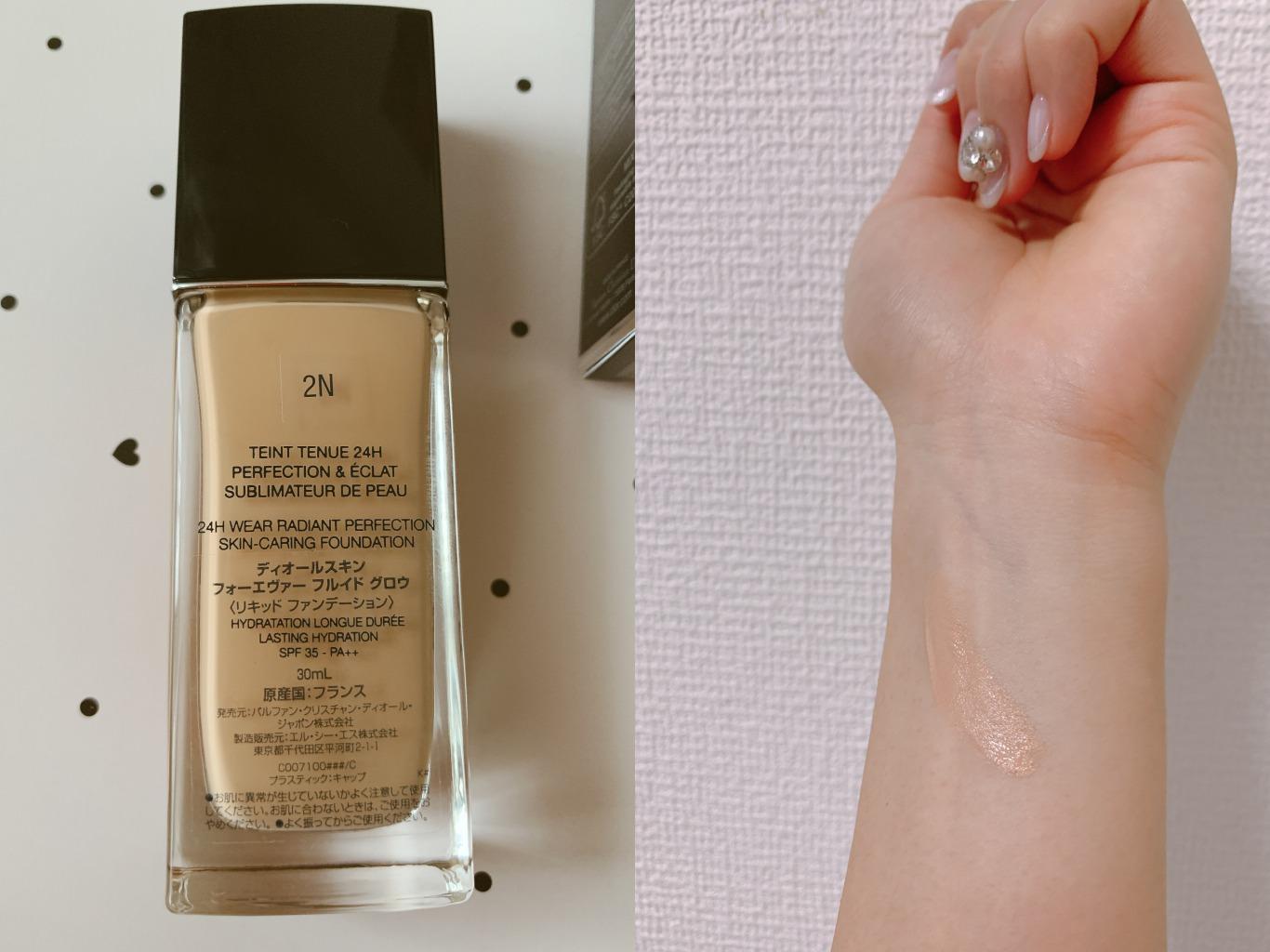 【崩れないツヤ肌】Diorセミグロウファンデ★24時間化粧もちキープ!_3