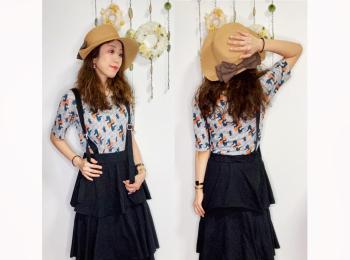 【オンナノコの休日ファッション】2020.8.8【うたうゆきこ】
