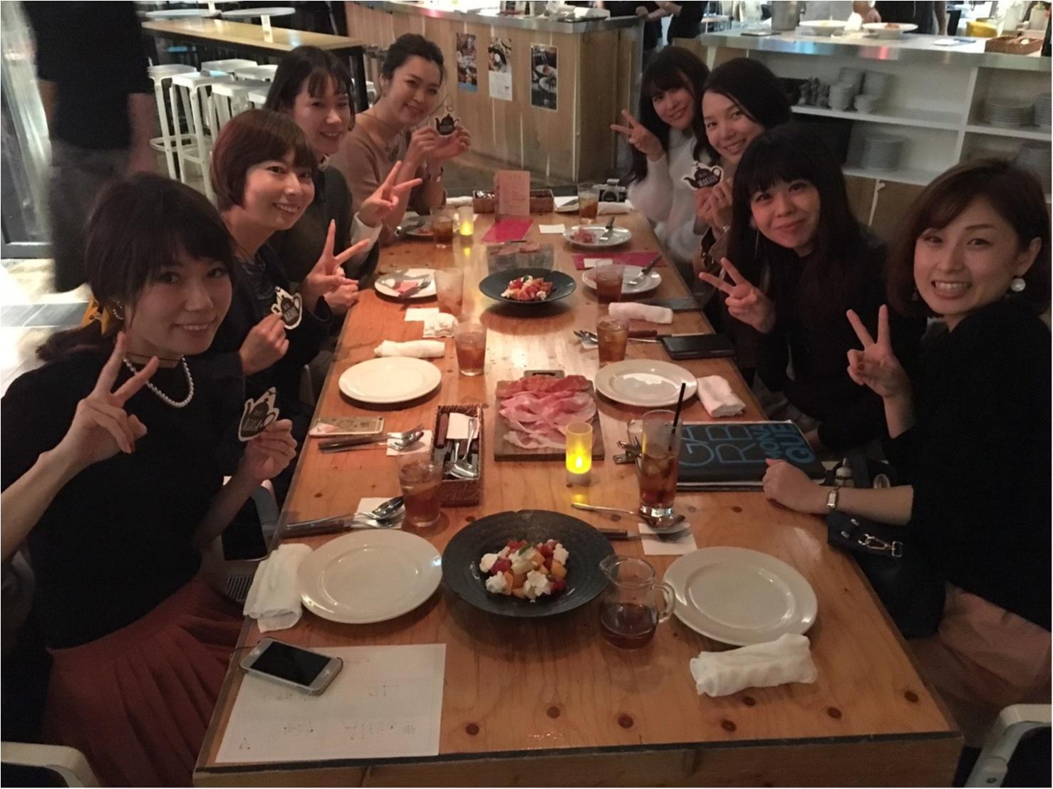 大阪梅田、GARB MONAQUEで関西モアハピ女子会♡_2