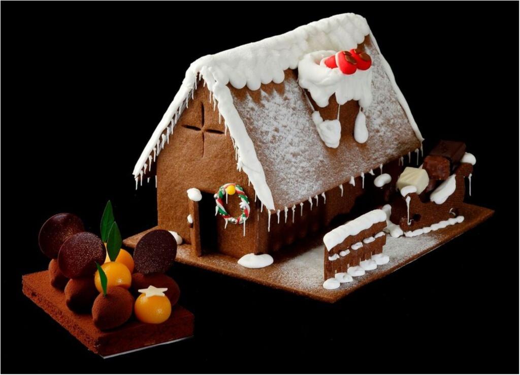まるで芸術品! 『パレスホテル東京』のクリスマスケーキは、彼と食べたいリッチな仕上がり♡_1