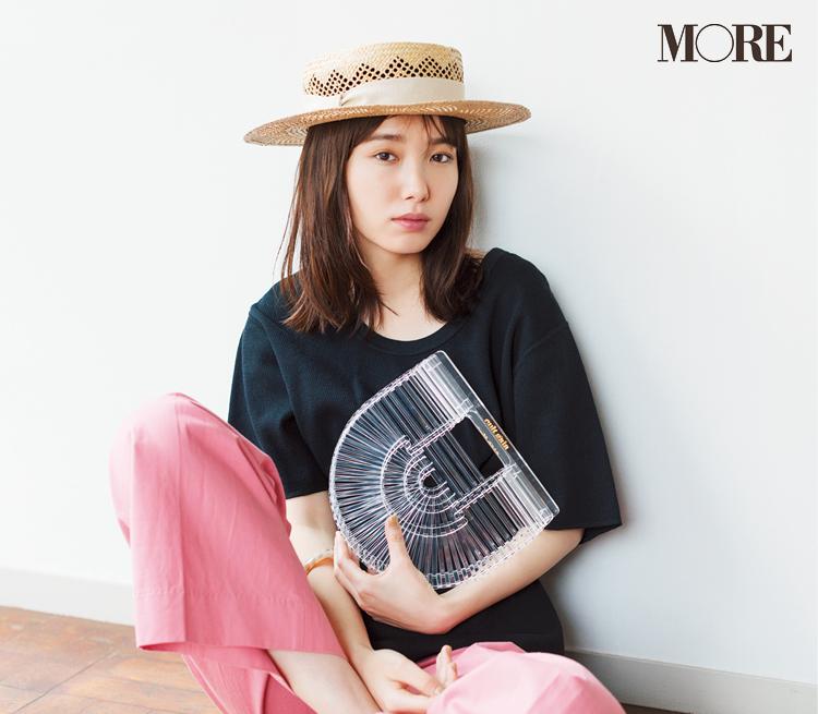 カンカン帽が復活♡ 2019年のかぶり方は、本田翼らモアモデルを参考に!_5