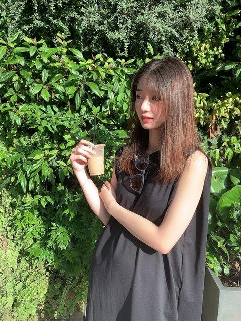 ワンピース1枚で大人かわいいプチプラコーデ♡_5