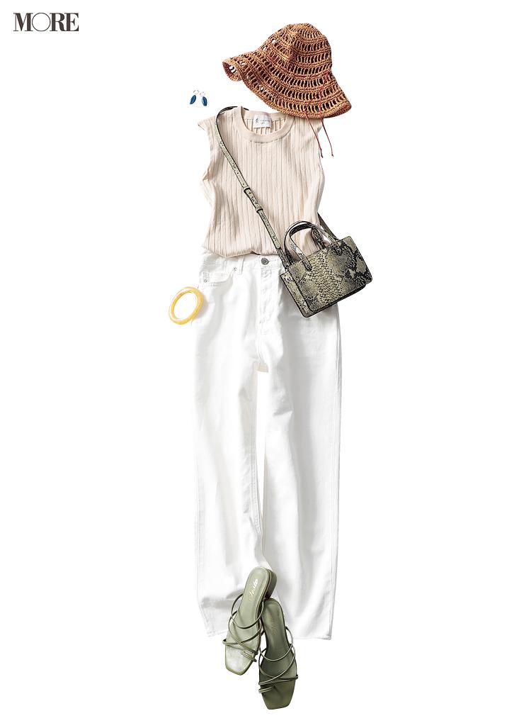 海辺で突然の出会い♡ 内田理央主演『安くて洗えて可愛い夏コーデ着回し』15日目_1