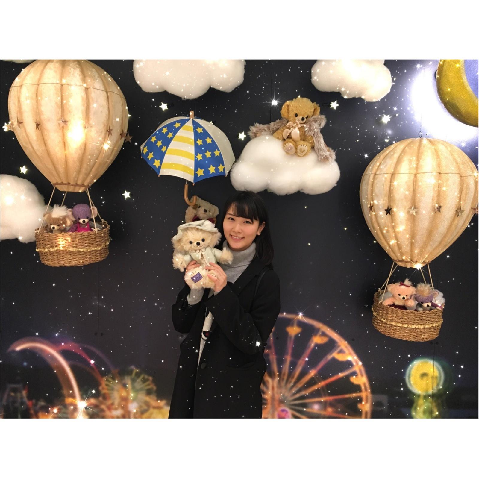▷【「夜空に輝く夢のテディランド」が新宿高島屋に登場✨】_4