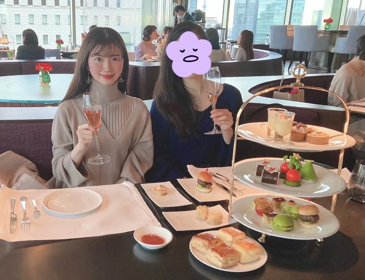 【ザ・ペニンシュラ東京】最上階で贅沢アフタヌーンティー♡_3