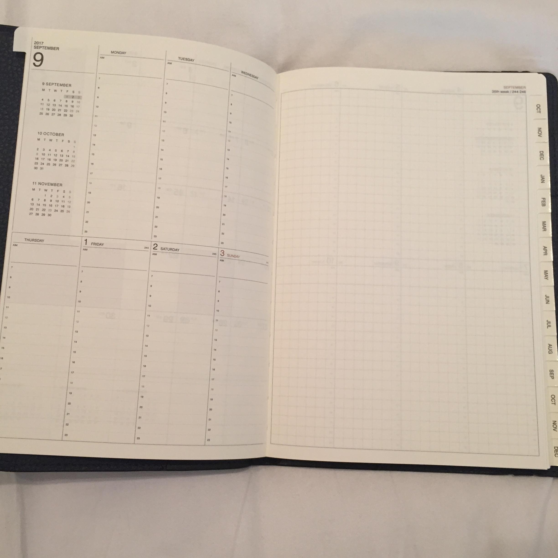 【2018年の手帳購入!!】アナログ派の私が10年以上手放せない手帳がこれ☆_3