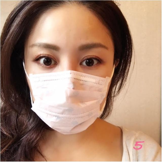 小顔に効果てきめん!花粉シーズンにぴったりの女子マスク比べてみました!5選_5