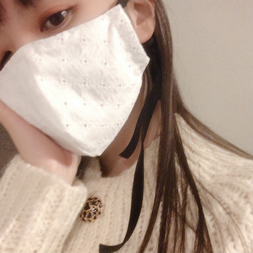 【手縫いで簡単!】上品レトロな手作りマスクをつくってみた_2