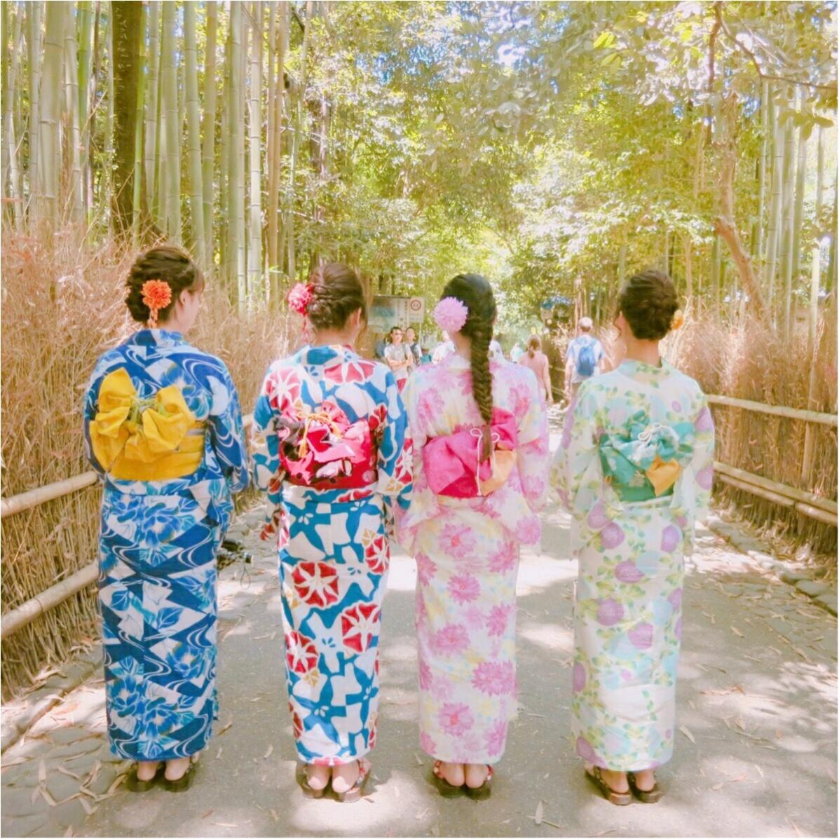 夏のデートは浴衣で決まり♡ 京都観光は浴衣のレンタルがおすすめ♡_4