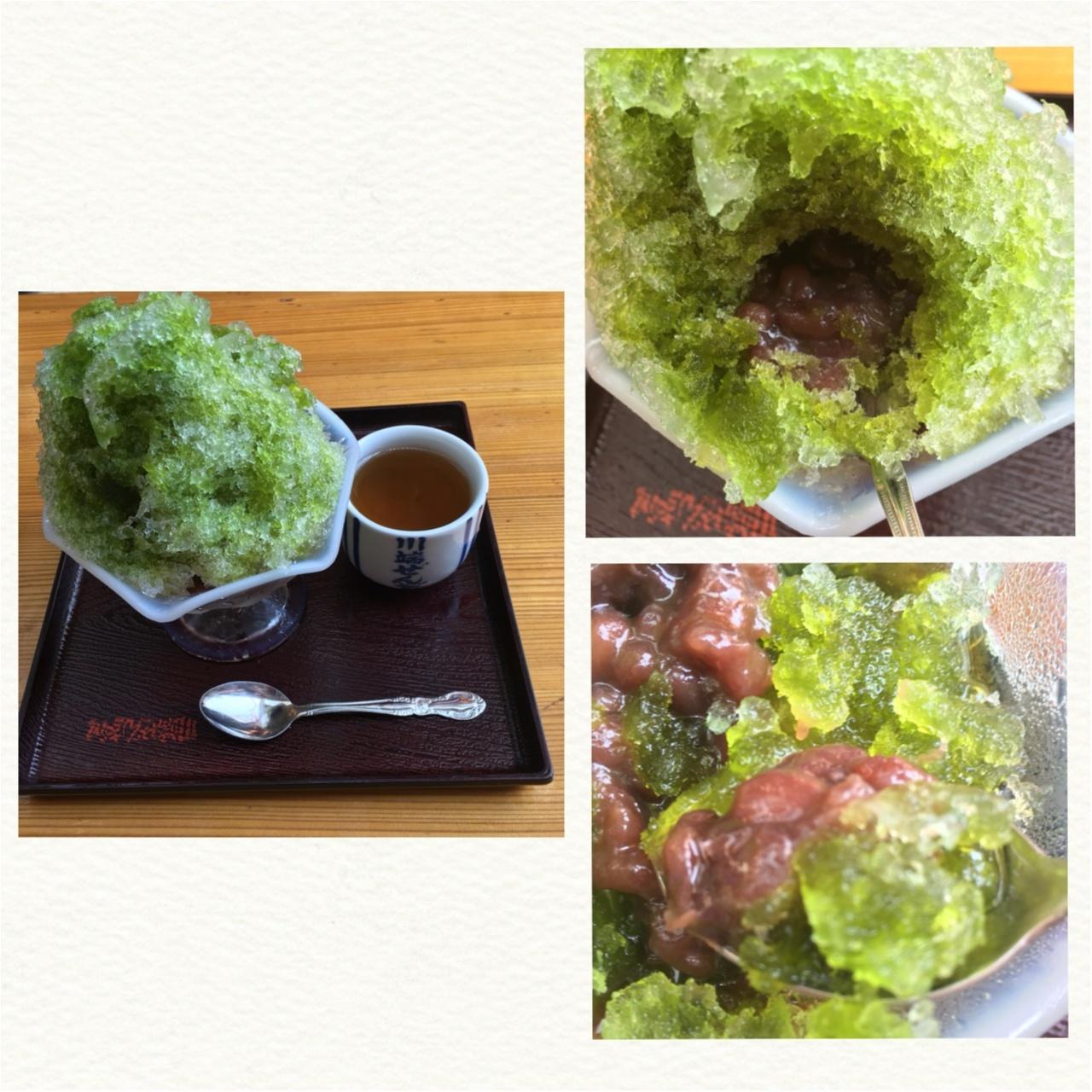 博多の夏の味♡川端ぜんざい広場のカキ氷がひんやりおいしい!♡_3