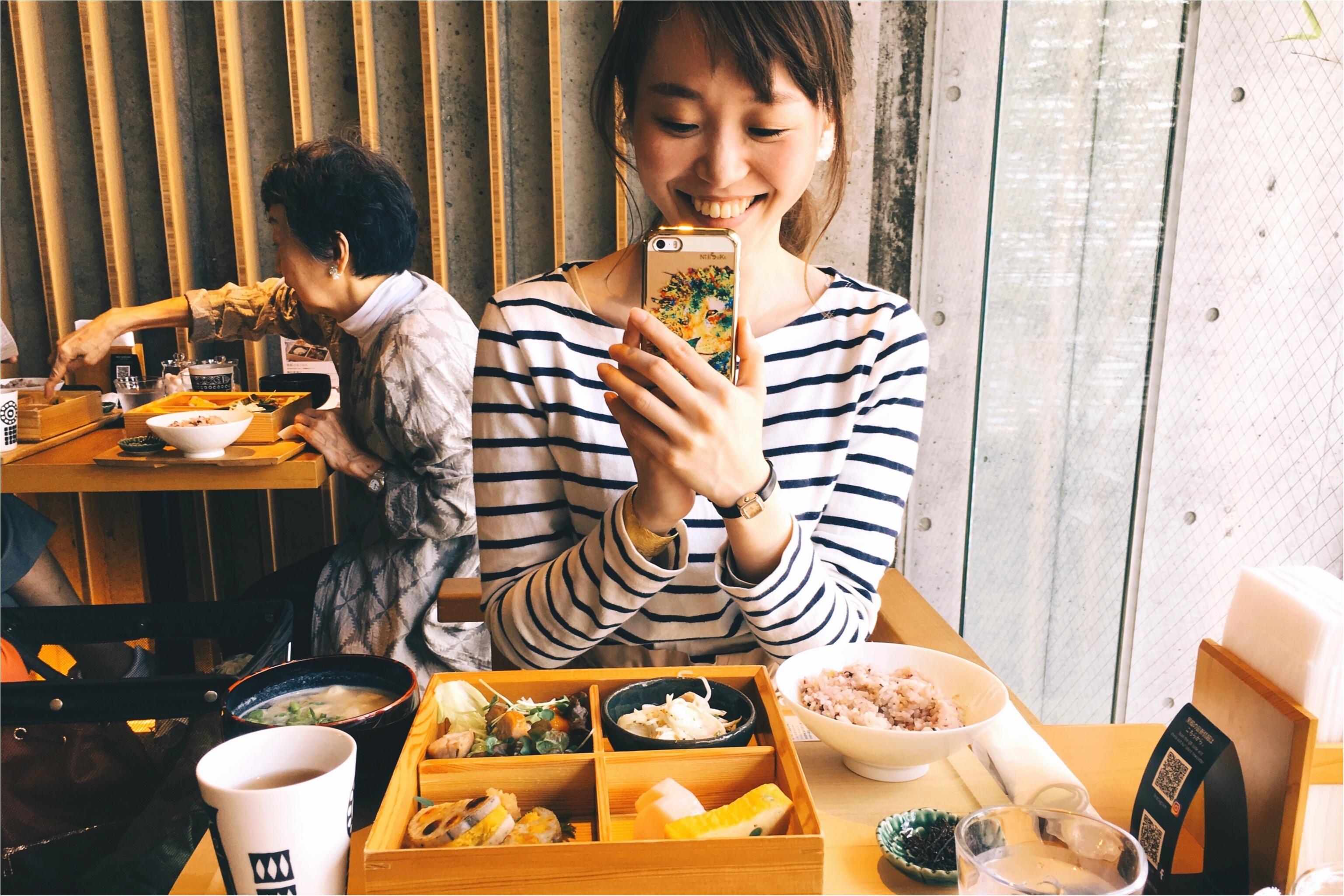 春の休日散歩♡モアハピ部いちさんとお食事に行ってきました!♡_2