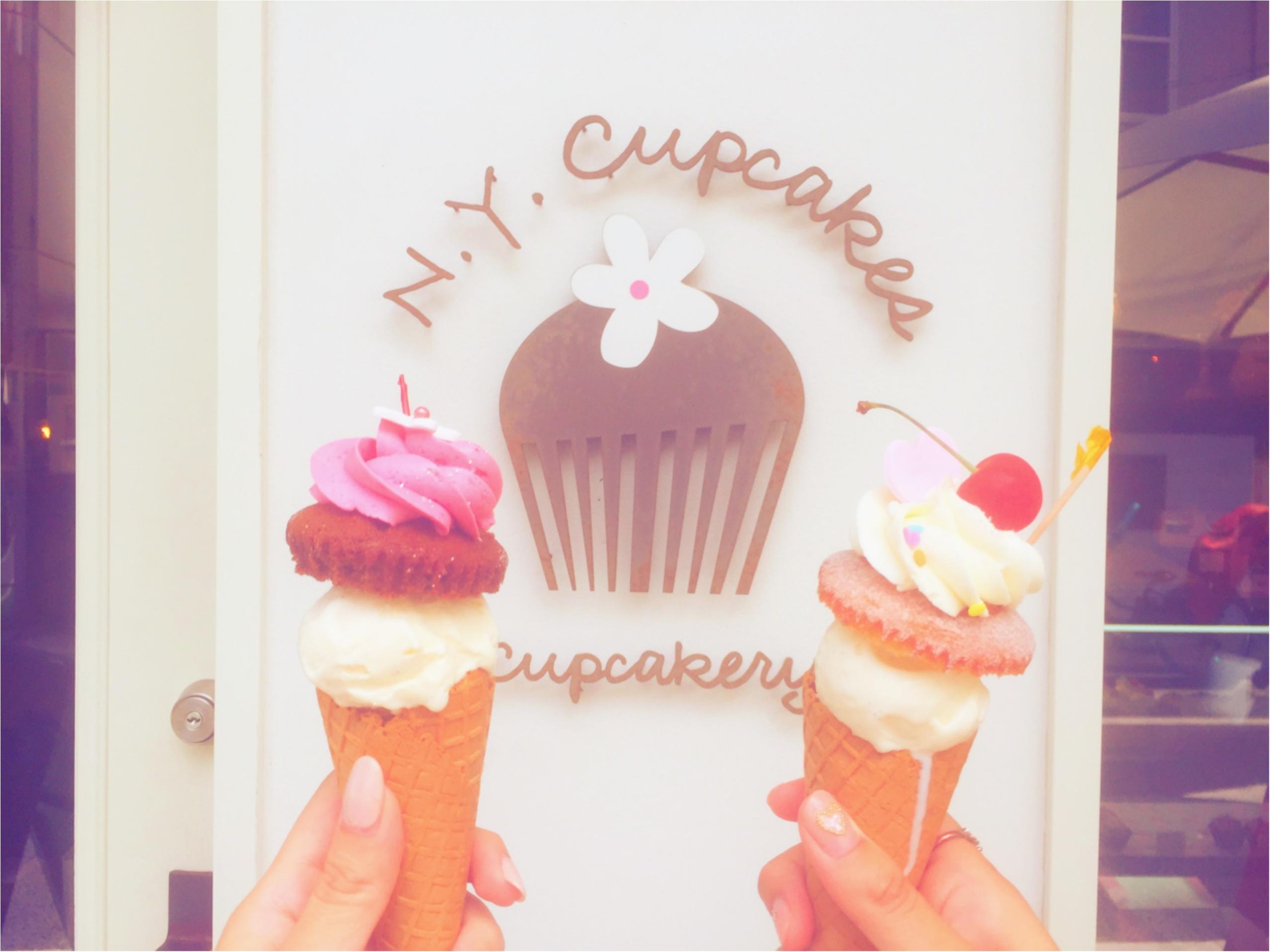 【N.Y. Cupcakes】の夏限定♡アイス+カップケーキが美味しすぎる!_4