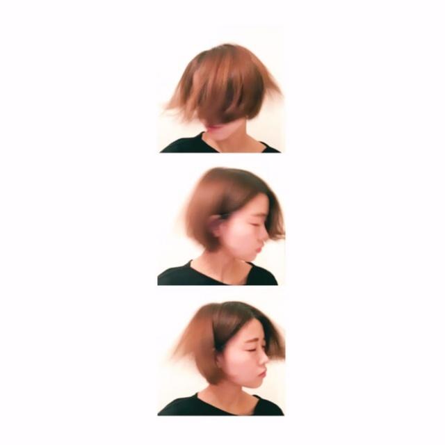 new hair ▶︎▷▶︎ ショートボブ_3