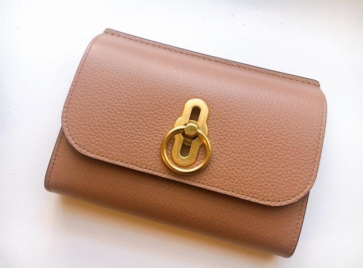 【20代女子の愛用財布】新しいお財布は憧れのキャサリン妃とお揃いに♡《Mulberry》のAmberley_3