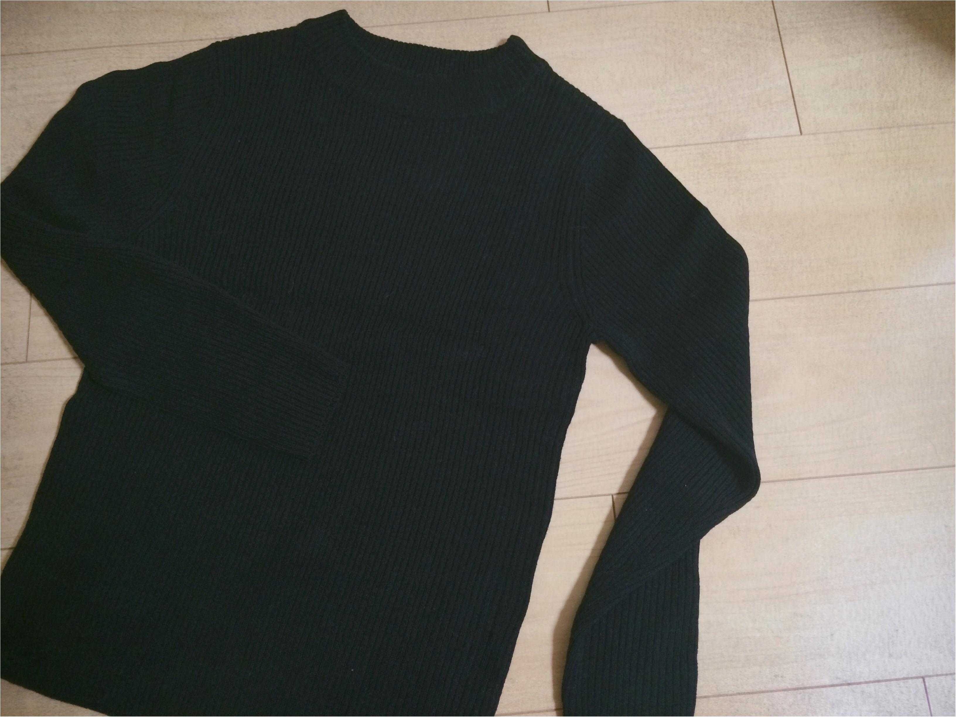 『冬コーデ、どっかに黒』GUなど、私が買い足した黒アイテム3つ!!_2