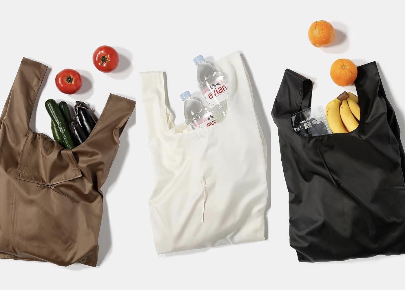 使用済みペットボトルから生まれたエコバッグ「REUSABLE BAG」がおしゃれ! 機能面も大充実なんです♬_1