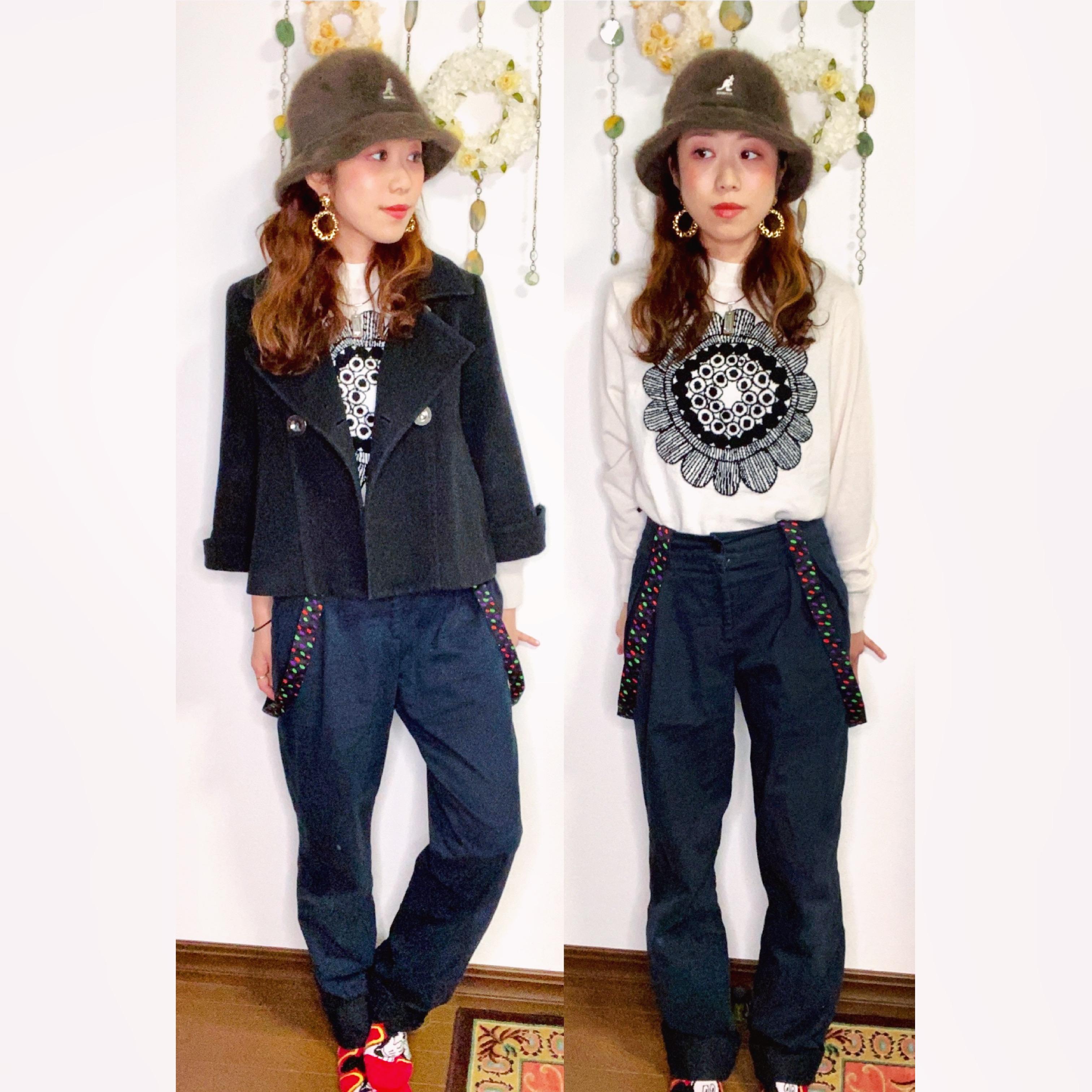 【オンナノコの休日ファッション】2020.10.17【うたうゆきこ】_1