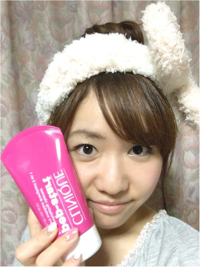 毛穴に悩む女子の味方!!♡クリニークの新商品❤︎pep-startの魅力♡♡_2