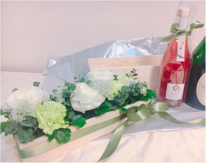 【around27の贈り物】特別な人への贈り物に!『CORK』のフラワーワインボックスがかわいい♡♡_2