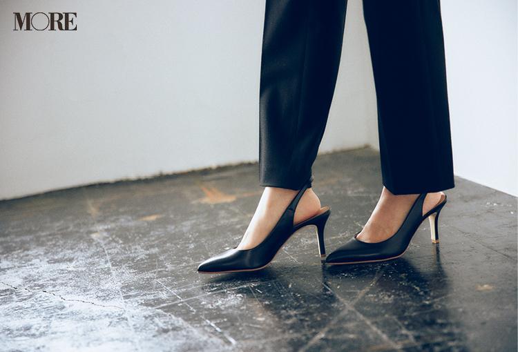 ユニクロで発見☆ 骨格診断で【ストレートタイプ】の人に似合う黒パンツがとてもきれい♡_4