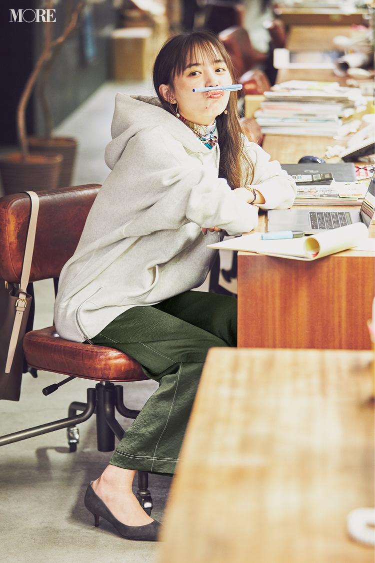 【着回しまとめ】11/27(金)〜12/4(金)の井桁弘恵主演『イージーパンツでノンストレスコーデ』着回し全部見せ!_1_3