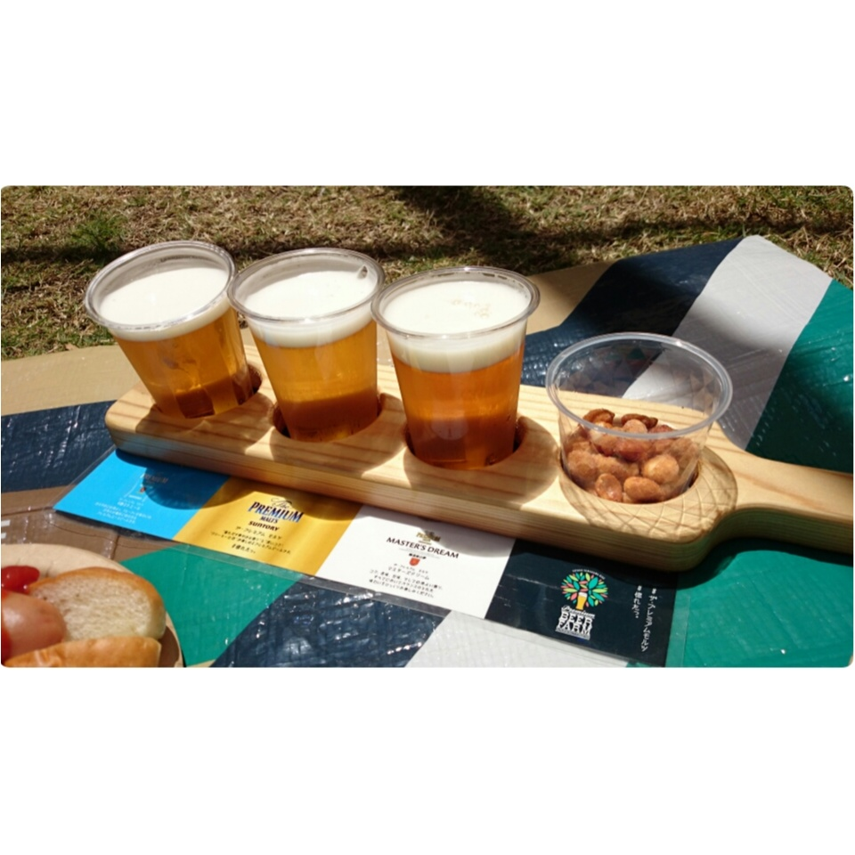 芝生の上でビール♡二子玉川で至福の時間を☺︎︎_5