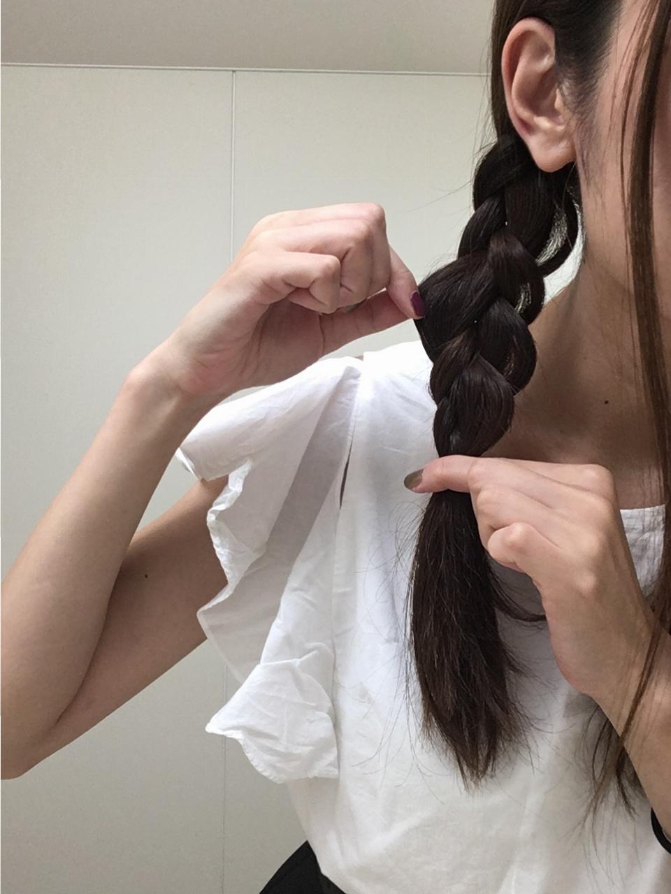 ▶▶仕事の日でも髪型を【3変化】3分あればできちゃう‼︎簡単ヘアアレンジで気分をアップ♪_6