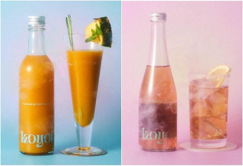 おしゃれすぎる低アルコールクラフトカクテル『koyoi』。「Tropical breeze」と「TOTONOI」のイメージビジュアル