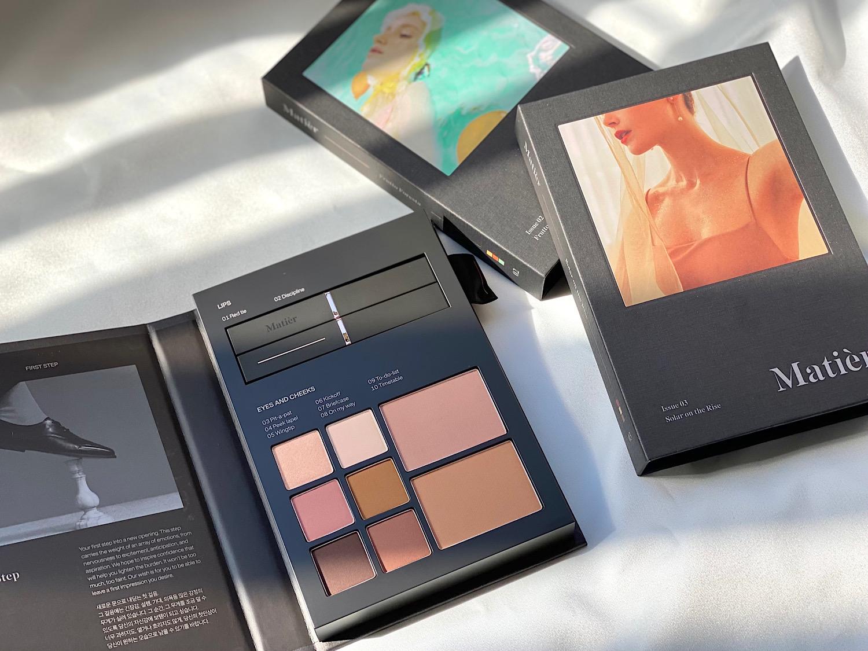 フォトジェニックなパッケージがSNSを中心に話題の『Matièr』(マティエ)は2020年8月に韓国でローンチされたコスメブランド