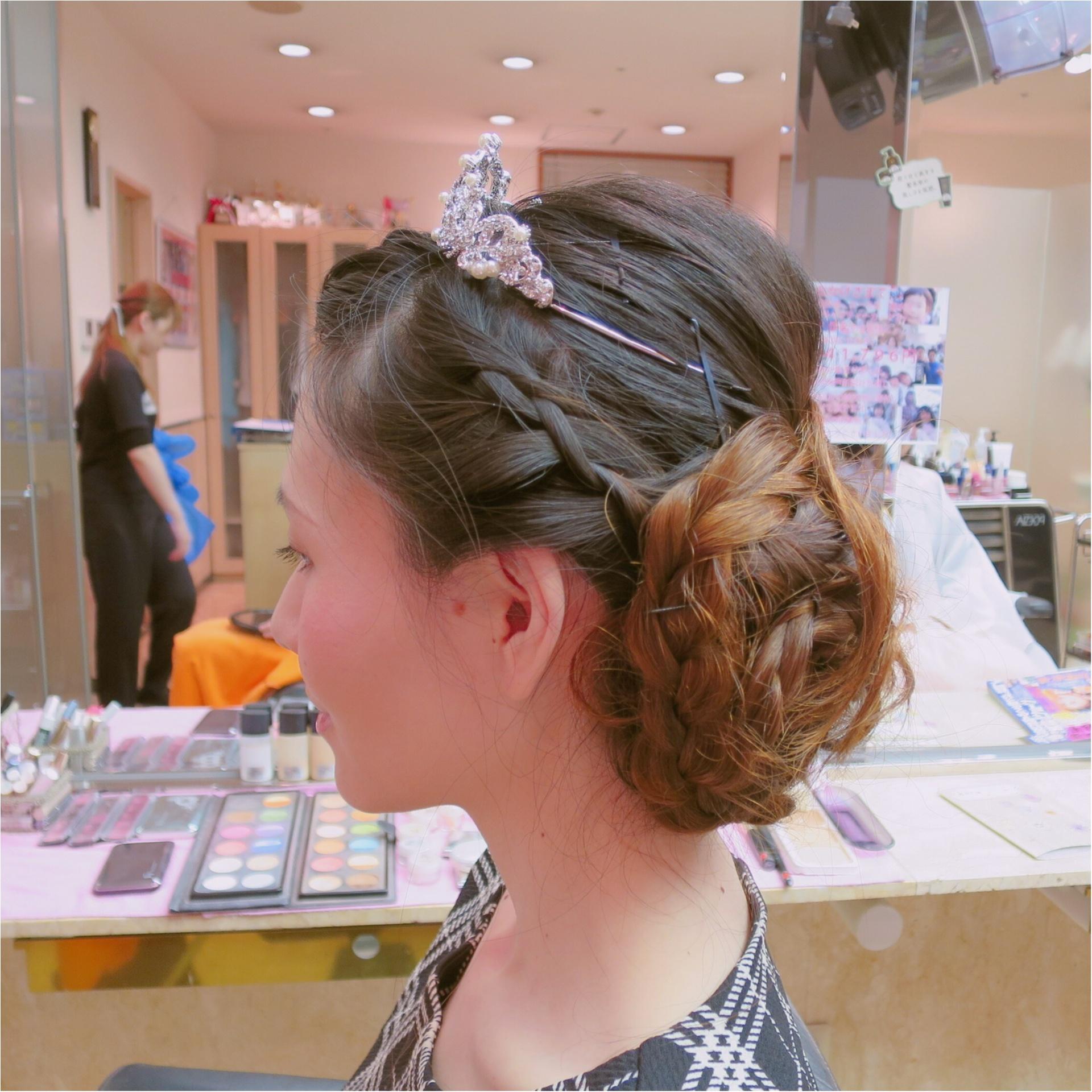 【Wedding】私のヘアスタイル♡ かわいいお花でラプンツェルみたいに♪  結婚式で後悔しないようにしておくべきこと *_3