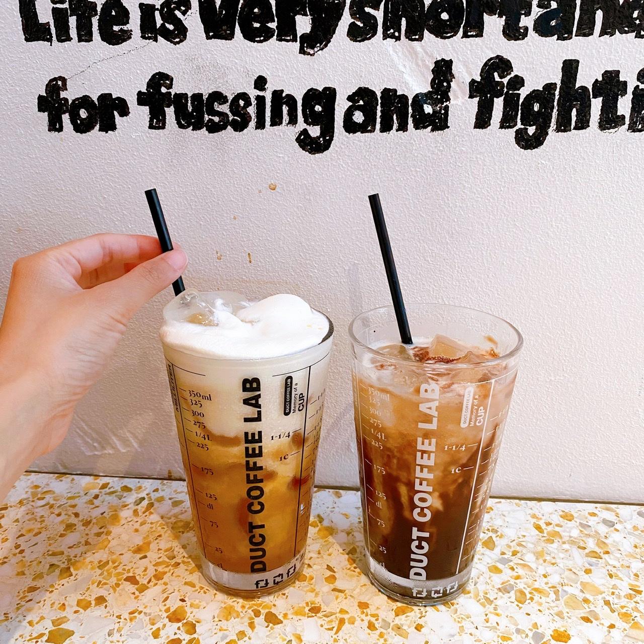 【代官山カフェ】SNSでよく見かける話題のミルクティー♡《DUCT COFFEE LAB》へ_4