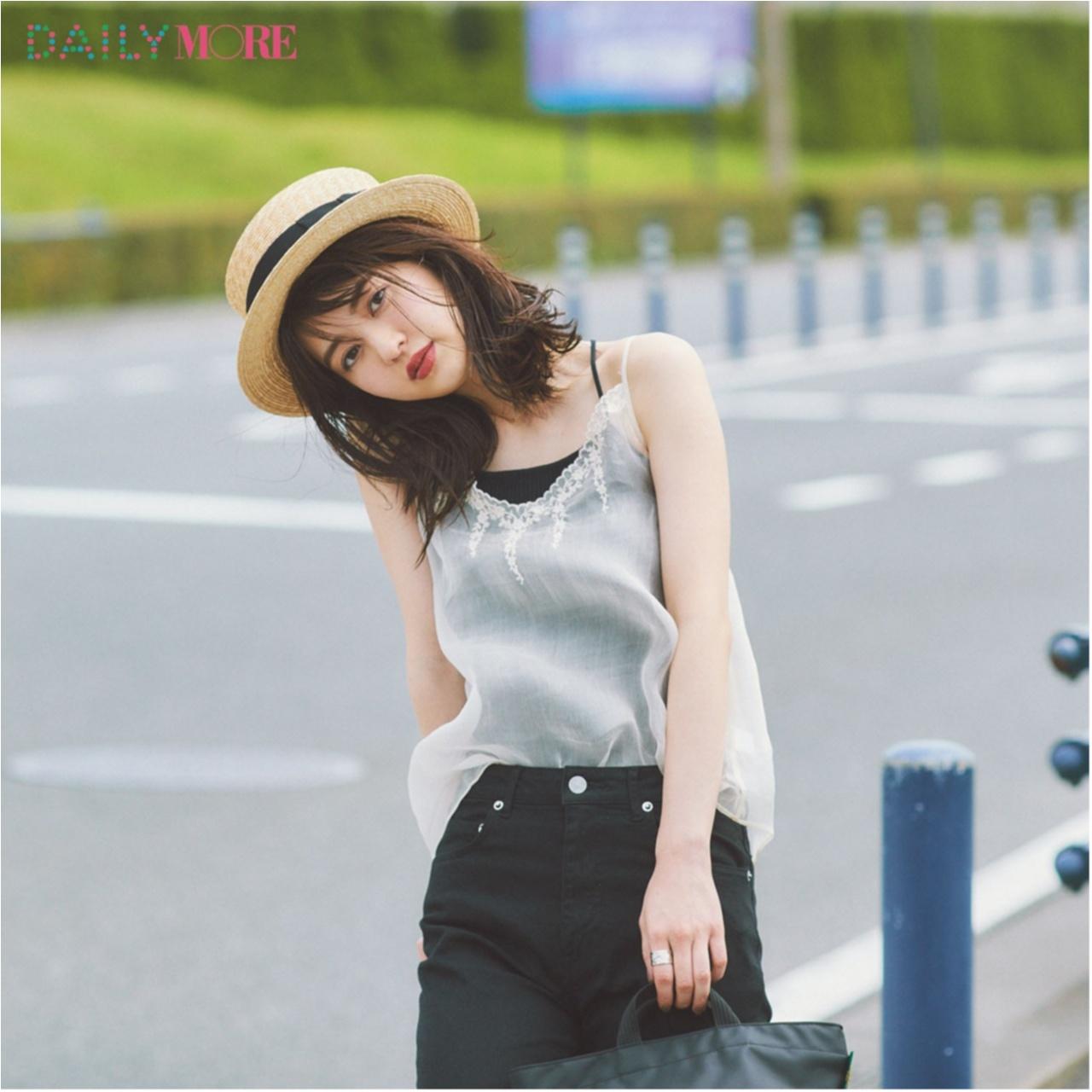 いつもの服が一気にフレンチムードに♪ お茶目な「カンカン帽」コーデまとめ♡_1_2