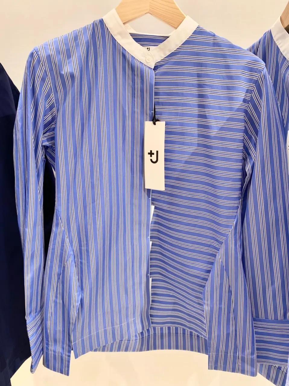 『+J(プラスジェイ)』のストライプシャツ