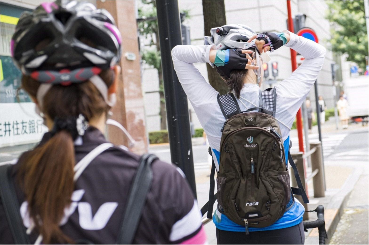 東京の名所巡り!ロードバイクですいすいお散歩♪  #ツール・ド・東北【#モアチャレ あかね】_1