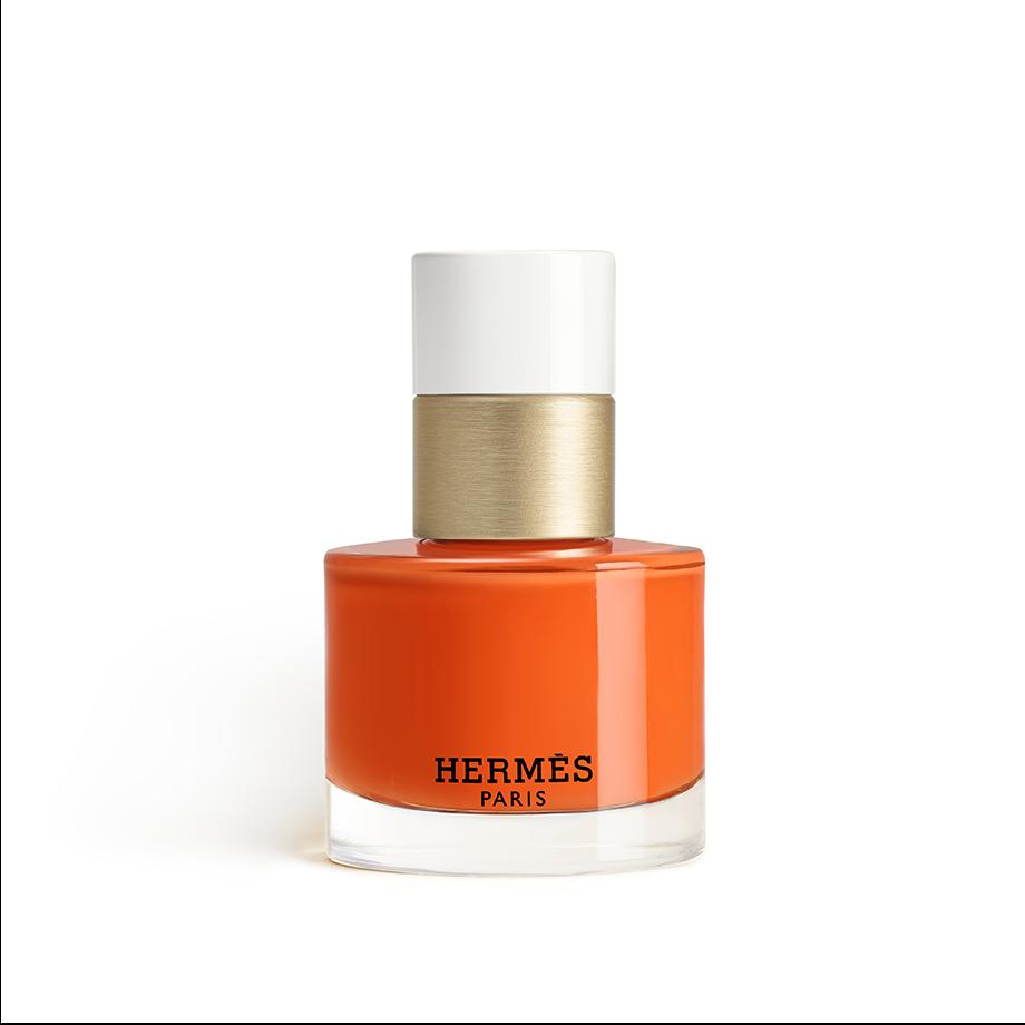 『エルメス』のクラフトマンシップが宿る鮮やかな24色のネイル_オランジュ・ボワット