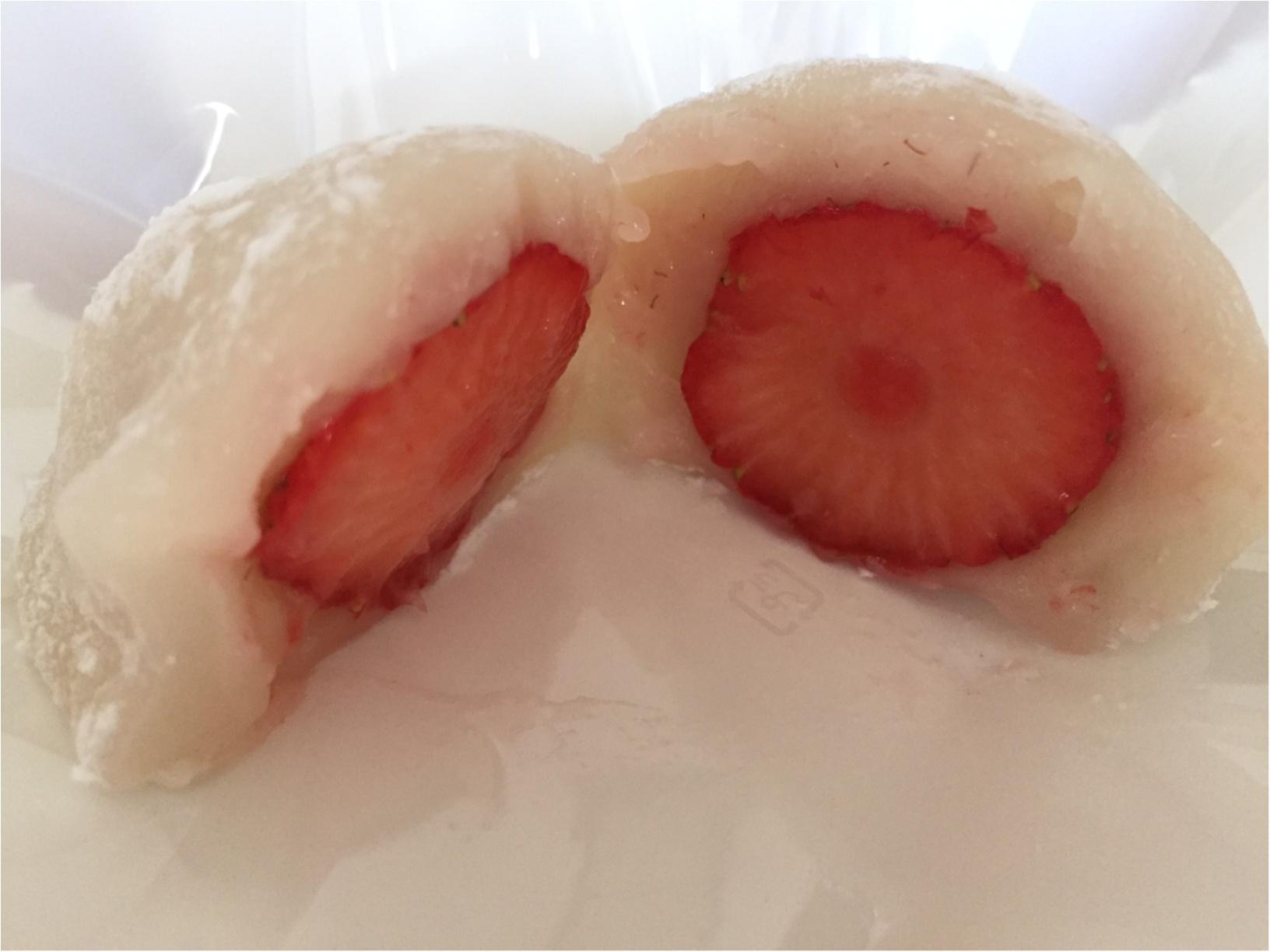 摘みたて果実をまるごと♡「一心堂」フルーツ大福にうっとり♡_4