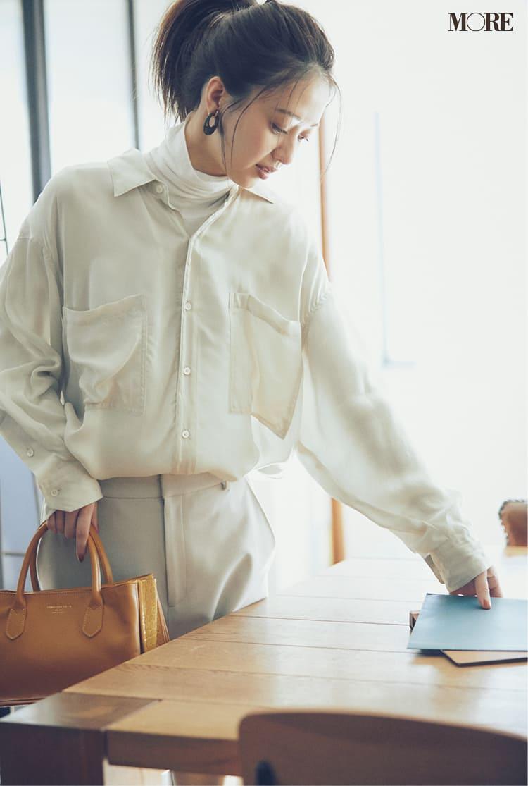 オフィスカジュアルのパンツ特集 - 20代女性におすすめブランドやおしゃれなレディースコーデまとめ | 2020年版_44