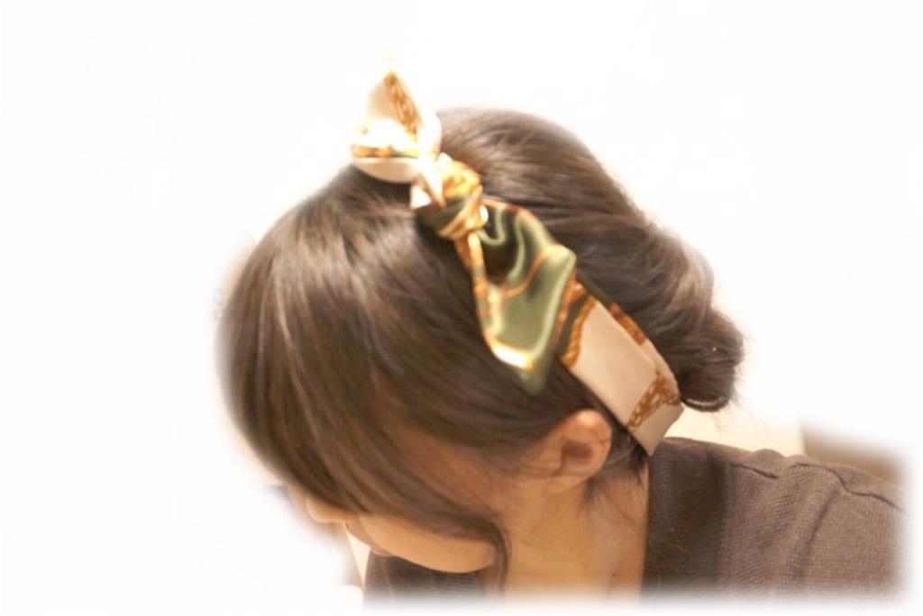 《いつものヘアアレンジがワンランクアップ♪ 》今旬【スカーフ】を使ったヘアアレンジが可愛い♡不器用さんでもOKな簡単アレンジ3選教えちゃう(*´∀`)_7