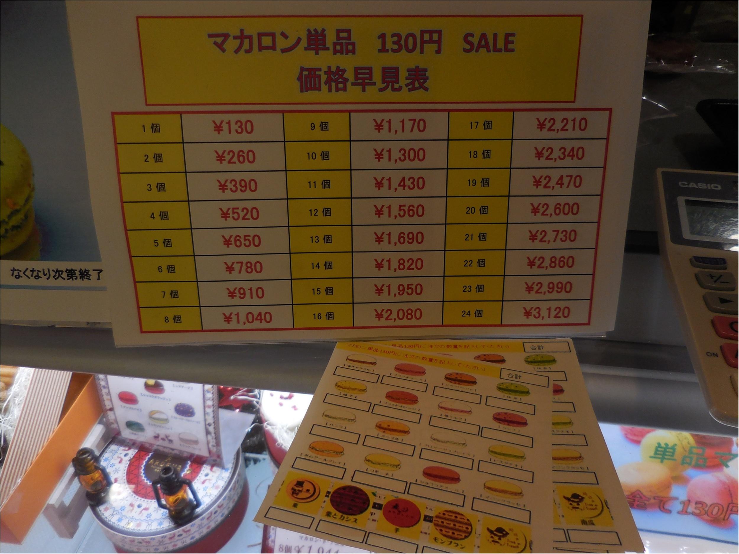 【アルデュールのマカロンがひとつ130円】_2