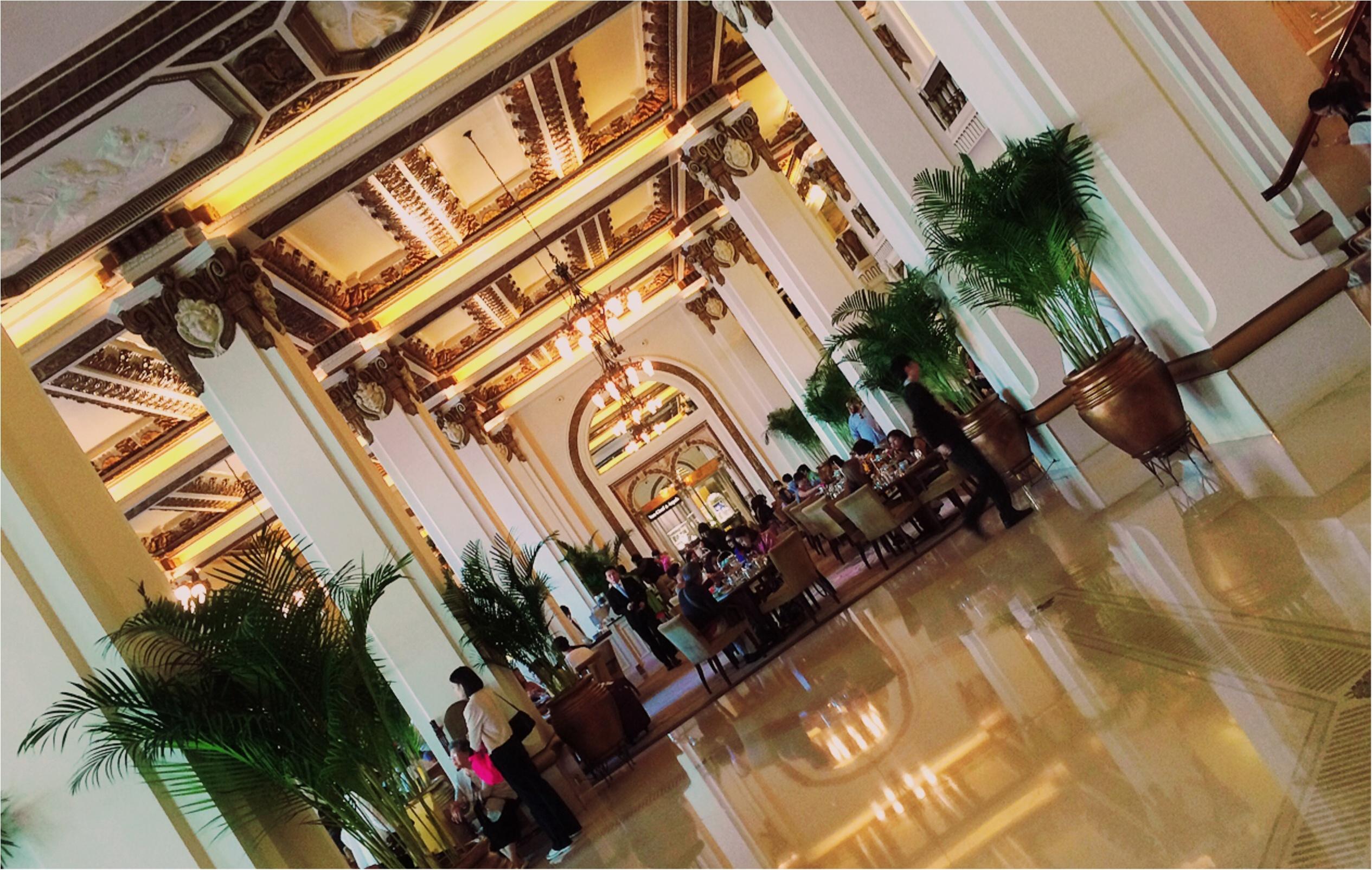 ★気分はまるでお姫様♡香港屈指のラグジュアリーなホテルでアフタヌーンティーを楽しもう★_9