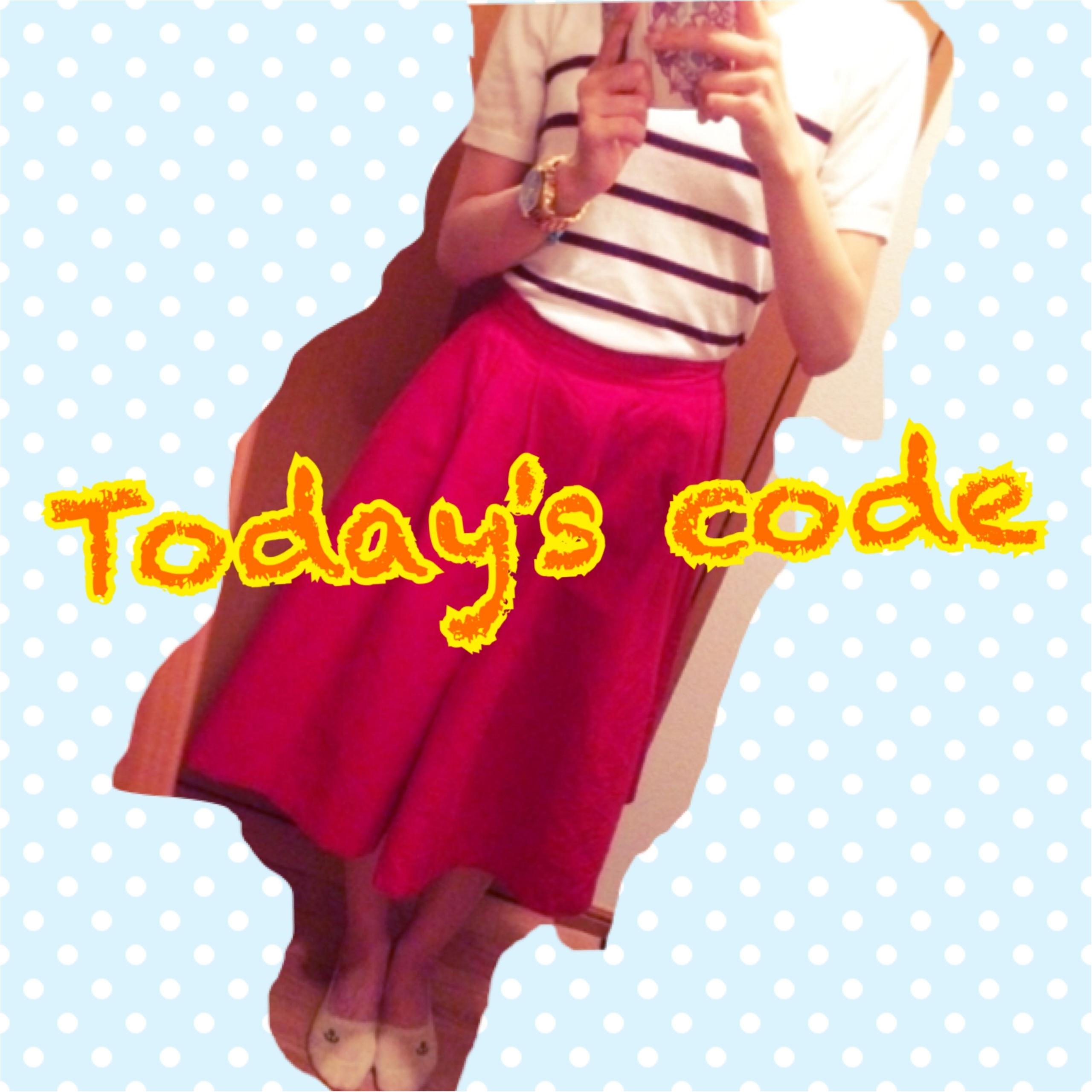 ★1枚だけで主役級の存在感♡GUのミディ丈スカートコーデ!★_1
