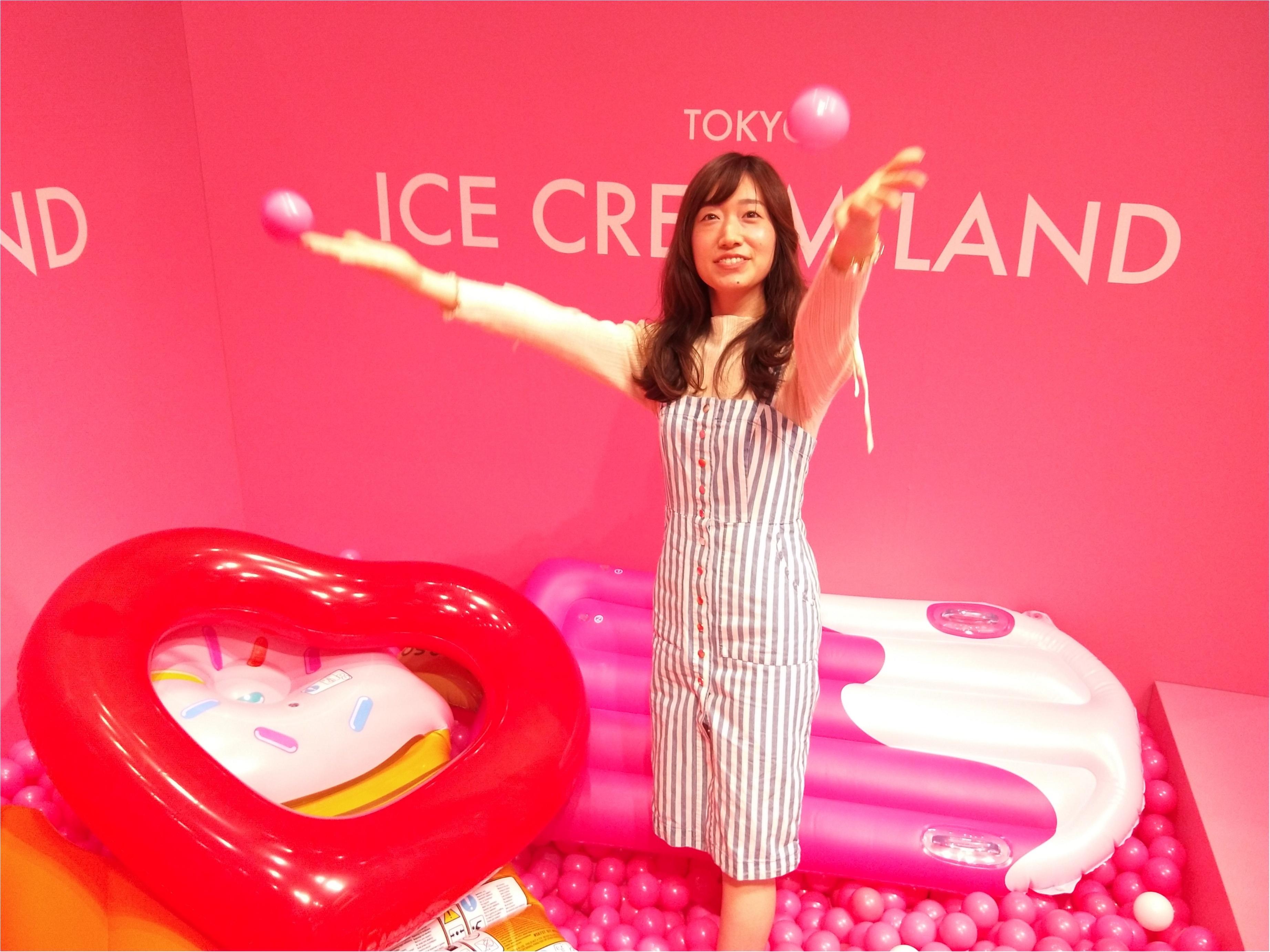 アイスクリームの夢の国「ICE CREAM LAND」でフォトジェニック空間を満喫♡横浜コレットマーレ5/27まで!_6_4