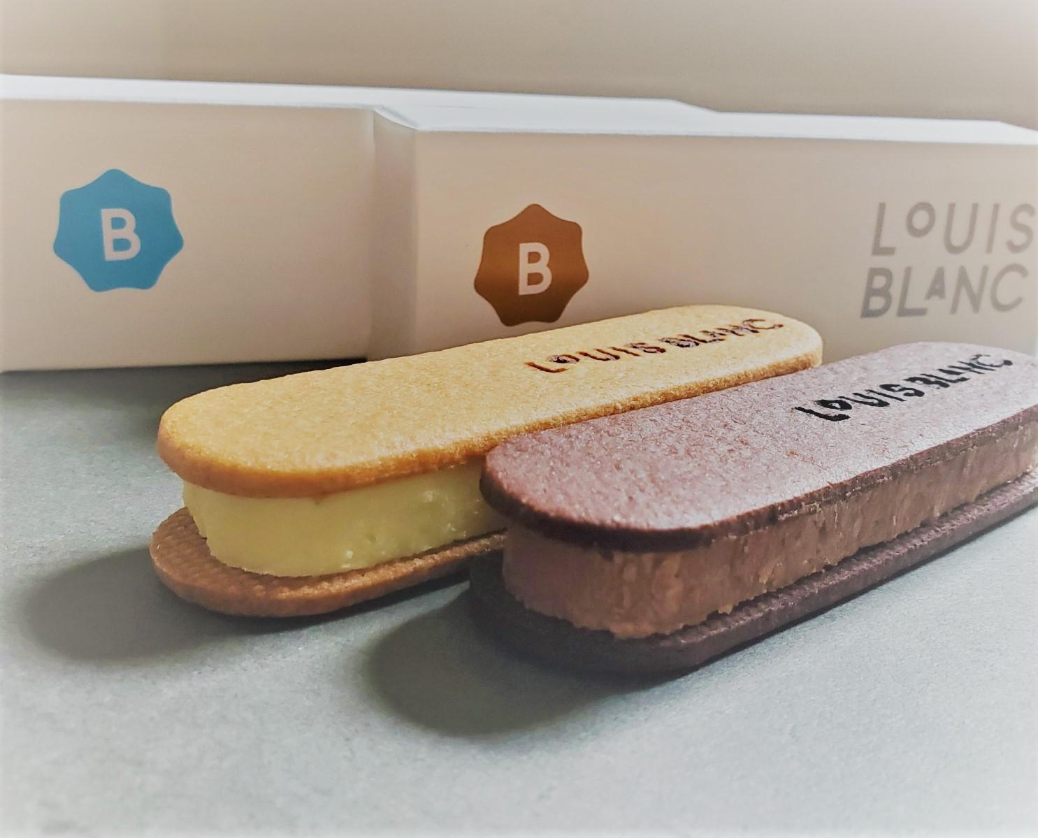 ≪神戸お土産≫濃厚チョコクリームとさくさくサブレのチョコレートサンド専門店【LOUIS BLANC】♡_3