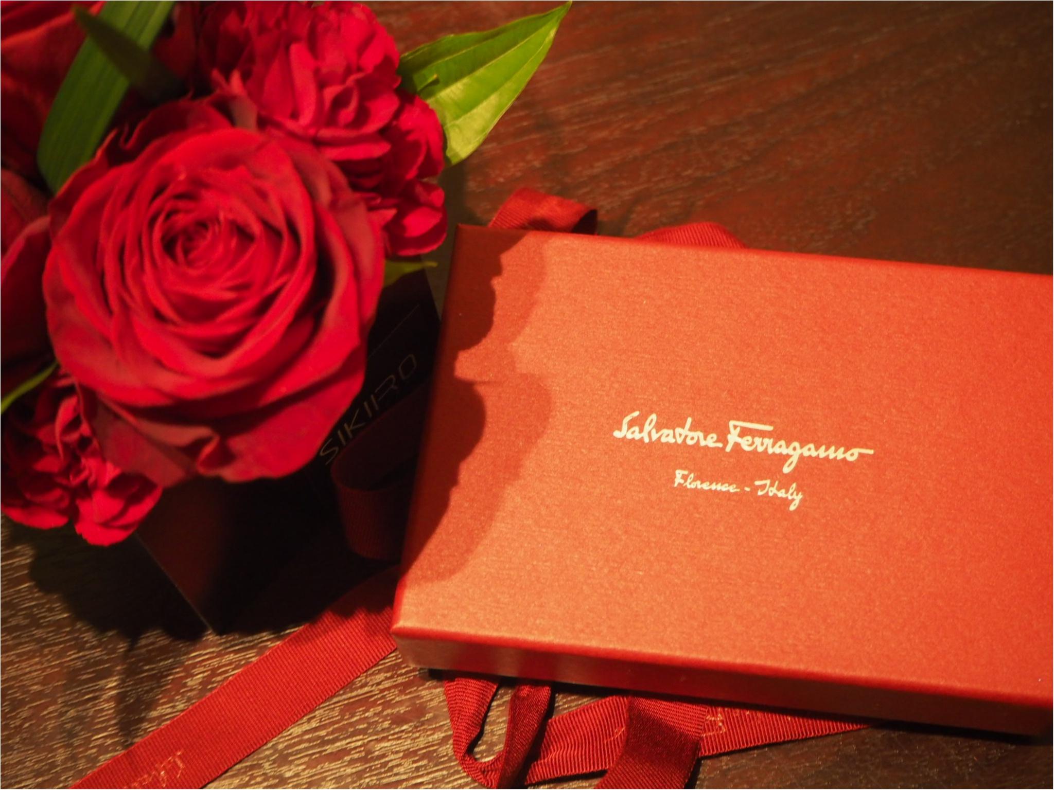 自分へのご褒美は「Salvtore Ferragamo(サルヴァトーレフェラガモ)」のミニ財布をお迎えしました!_1