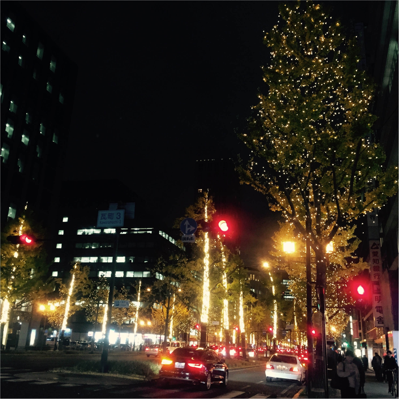 御堂筋イルミネーションがスタート!♡街が輝く季節が到来♡_3