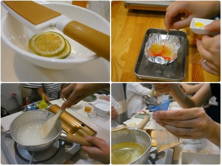 ユイミコさんに習う夏の和菓子作り体験で涼しげな「金魚の羊羮」にチャレンジ♪_3