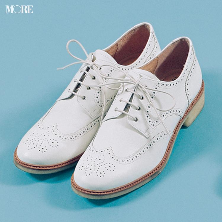 「おしゃれな軽さ」には真っ白なおじ靴が効果的♡ 夏から秋まで絶対使える一足をピックアップ!_5