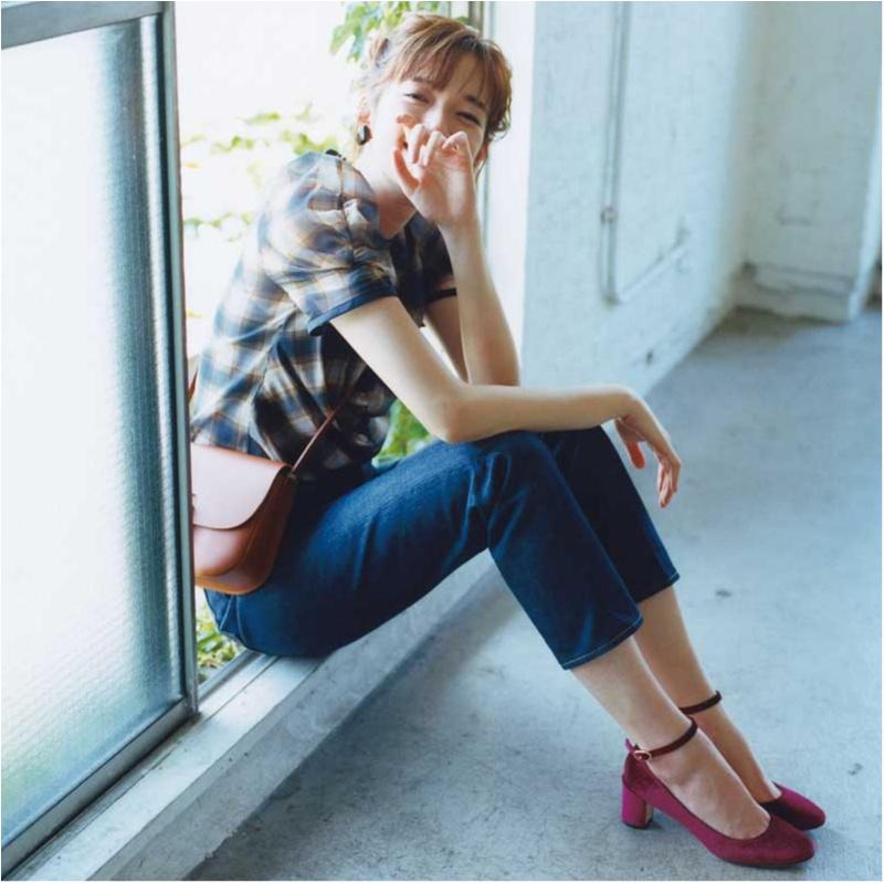ちょっぴりの色気も欲しいから。佐藤栞里は「パーツをきれいに見せる服」を指名!_1_2