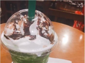 《スタバの新作》抹茶好きはぜったいぜーったい飲んでいただきたい!!!