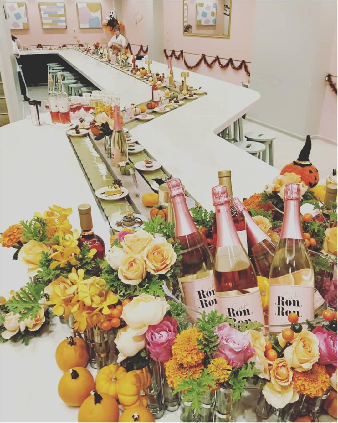 """""""回転寿司""""ならぬ「回転スイーツカフェRon Ron」はイベント盛りだくさん♥ハロウィンパーティー参加レポ!_1"""